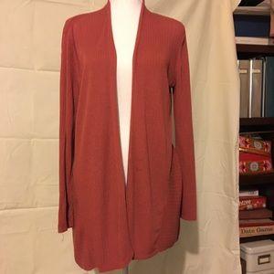 Eileen Fisher silk cotton sweater SZ L